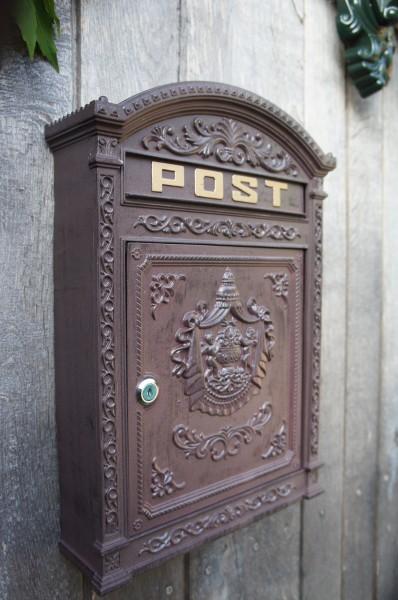 Wandbriefkasten Postkasten Briefkasten klassischer Stil