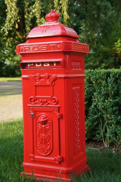 Säulenbriefkasten Postkasten Standbriefkasten Briefkasten