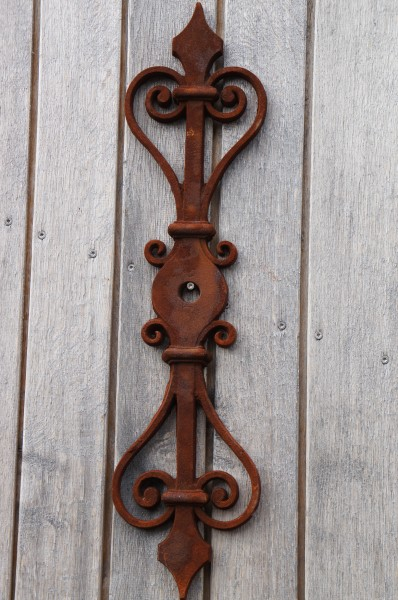 Historische Maueranker Dachpfettenanker Anker Sparrenanker Ornamente